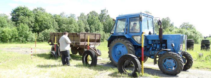 Где поменять права тракториста