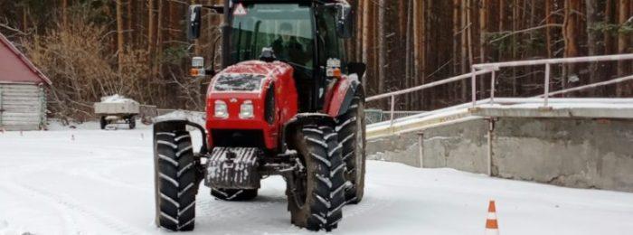 Получение удостоверений тракториста-машиниста
