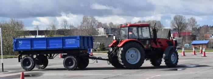 Права тракториста-машиниста погрузчика