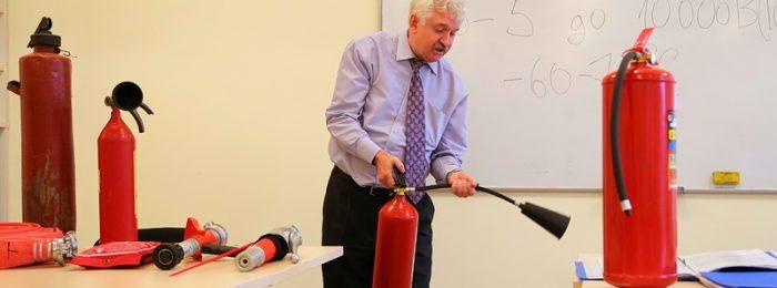 Обучение на пожарно-технический минимум (ПТМ) специалистов