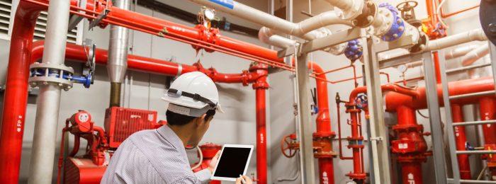 Техническое обслуживание пожарных систем
