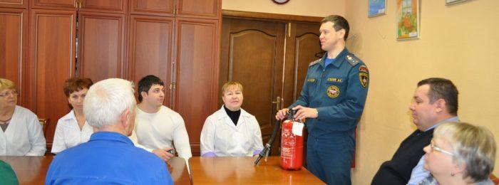 Обучение по пожарной безопасности работников организаций