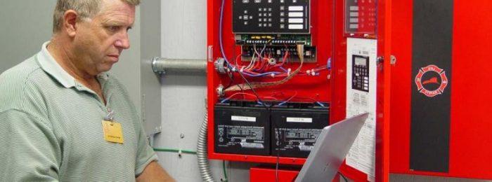 Техническое обслуживание автоматической пожарной сигнализации