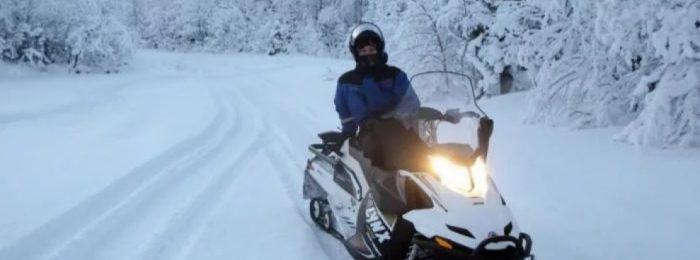 Дистанционное обучение на снегоход