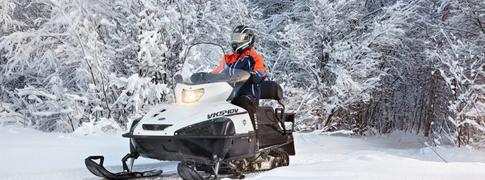 Права на управление снегоходом