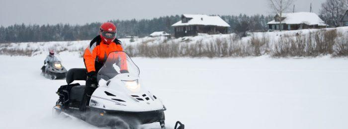 Нужны права на снегоход