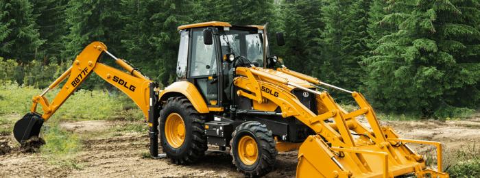 Права на трактор-экскаватор